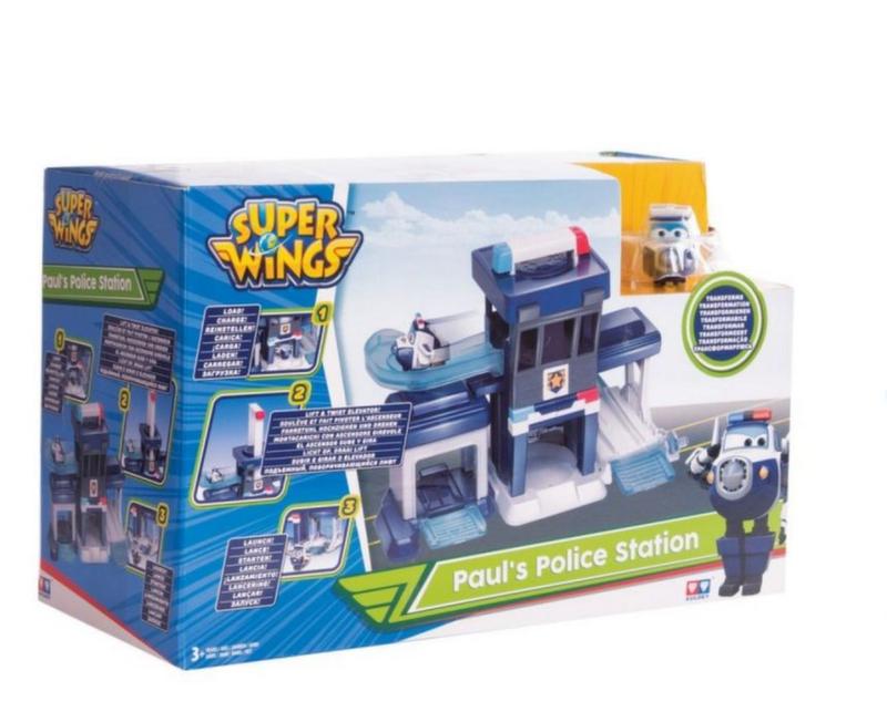 """Супер крылья """"Полицейский пункт Пола"""" EU720815S"""
