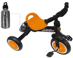 Велосипед трехколесный Ламборджини  Lamborghini   HL1O оранжевый