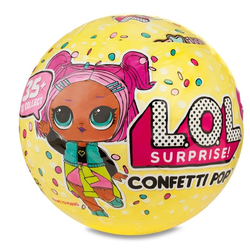 Кукла Lol Surprise Confetti Pop 3-я серия 1 волна 551522