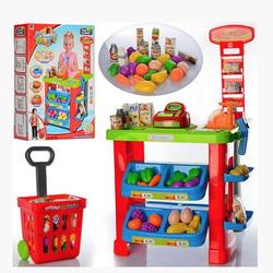 Игровой набор Супермаркет с тележкой, сканером и весами 90см 661-80