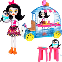 """Кукла Enchantimals в наборе """"Фургончик мороженого Прины Пингвины"""" Mattel FKY58"""