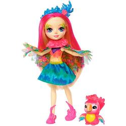 Enchantimals кукла Пики и ее питомец попугайчик Шини FJJ21