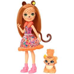 Enchantimals кукла Чериш и ее питомец тигренок FJJ20