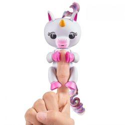 Интерактивный ручной единорог Fingerlings Baby Unicorn Gigi Гиги  3708