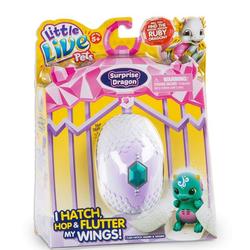 Интерактивный Дракончик вылупляется из яйца Сплэш / Шивер Little Live Pets Surprise 28644
