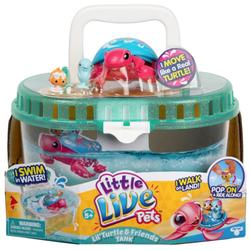 Интерактивная черепашка Песчинка в аквариуме с друзьями Little Live Pets 28563