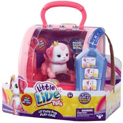 Интерактивная собачка Принцесса  Little Live Pets с мячиком и домиком - переноской 28493