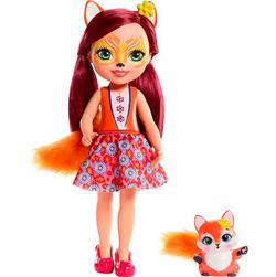 Энчантималс большая кукла Фелисити Лис с питомцем Фликом Enchantimals FRH53