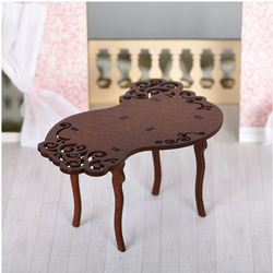 Мебель для кукол Одним прекрасным утром - Стол резной 59410