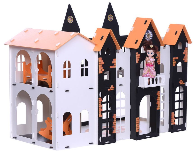 Кукольный домик Замок Джульетты Krasatoys 72 х 42 х 55 см 000260