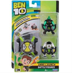 Бен 10 Омнизапуск с двумя фигурками Алмаз и ядро 76793