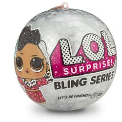 Кукла Лол Бриллиант Новогодняя серия Lol surprise Bling Series 554806