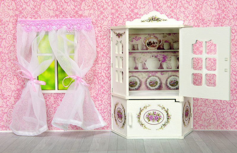 Мебель для кукол Одним прекрасным утром - Столовый буфет Прованс 59421