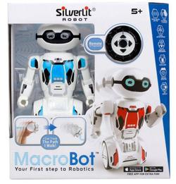 Игрушка Робот радиоуправляемый Mакробот Silverlit Macrobot 88045S-BLUE