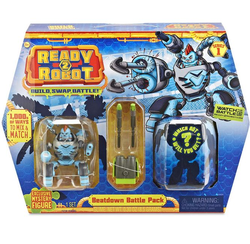 Ready2Robot капсула сюрприз и Сокрушитель Thermo с оружием 553878/553915
