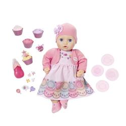 Беби Анабель интерактивная кукла Праздничная 43 см Baby Annabell Zapf Creation 700-600