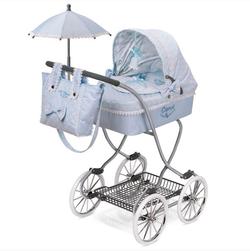 Коляска для кукол с сумкой и зонтиком Кэрол 90 см 80222