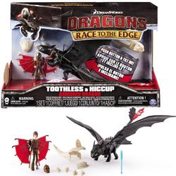 Dragons Как приручить дракона  Дракон Беззубик со звуком и Иккинг 31 см 66607
