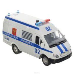 Машина Технопарк Газель Полиция инерционная, свет, звук CT-1276-16