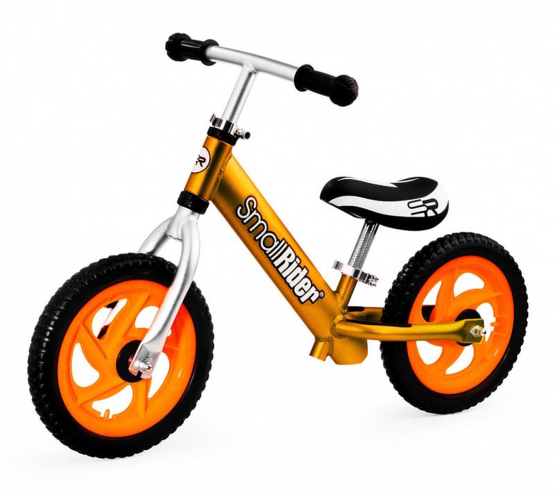 Беговел Small Rider Foot Racer 2 EVA алюминий, колеса ПВХ золото 1636908
