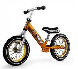 Беговел Small Rider Foot Racer 2 AIR алюминий, надувные колеса бронза 1636909