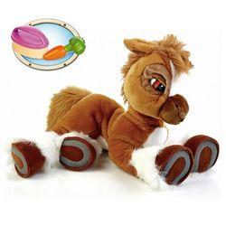 Интерактивная игрушка Пони Тоффи с морковкой и щеткой 2063773