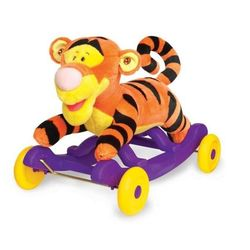 Каталка - качалка Тигруля плюшевый Kiddieland KID 033738