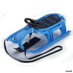 KHW Санки детские Snow Tiger de luxe 21602 синий