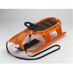 KHW Санки детские Snow Tiger de luxe оранжевый ОС 21612