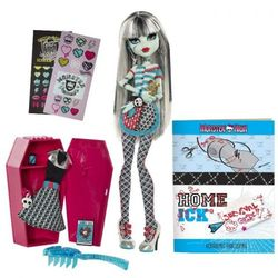 "Кукла ""Школа монстров"" Classroom Playset And Frankie Stein Monster High W2556/W2558"