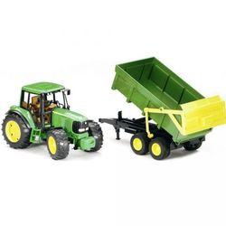 BRUDER Трактор John Deere 6920 с прицепом 02-058