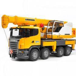 BRUDER Автокран Scania со световыми и звуковыми эффектами 03-570