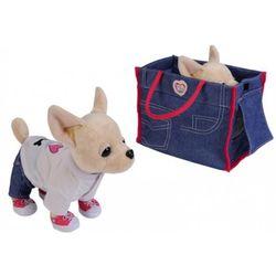Chi Chi Love собачка Чихуахуа в сумочке, рубашке и джинсах 20 см 5894128