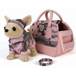 Chi Chi Love Чихуахуа с сумкой и аксессуарами для ребенка 20 см 5894132