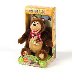 Маша и медведь Интерактивная мягкая игрушка Медведь 30 см V91097/25