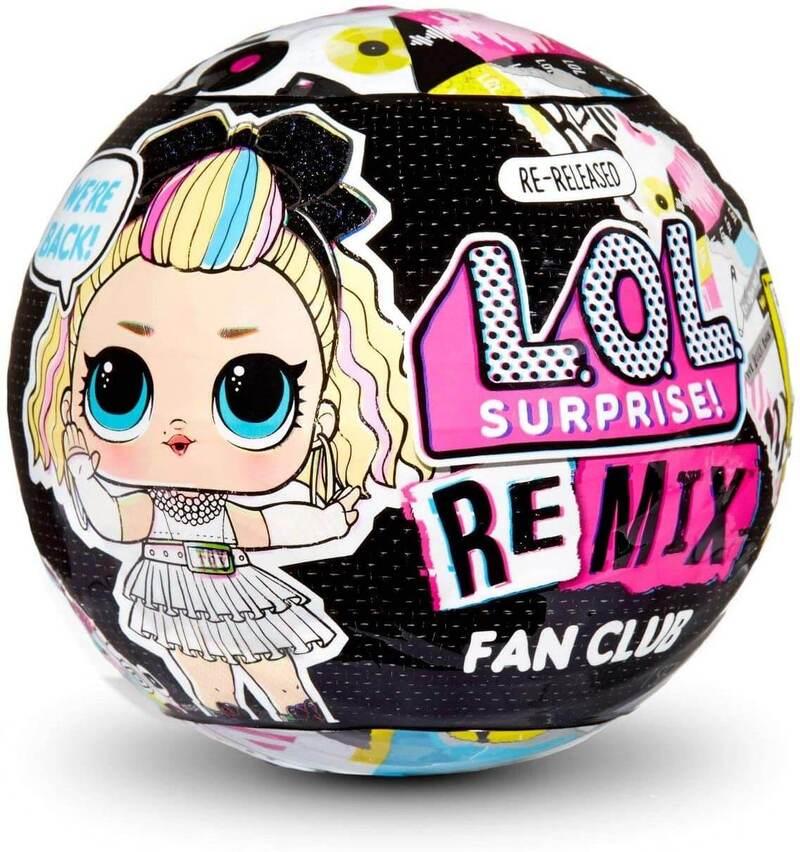 Кукла Лол сюрприз Remix Fan Club 422556