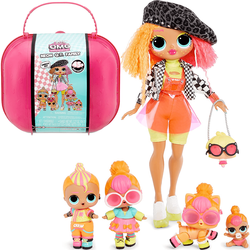 Кукла Neon Q.T. с семьей LOL surprise OMG Neon Q.T. Family + 45 сюрпризов 423195