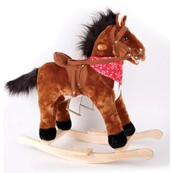 Лошадка качалка со звуковыми эффектами 15-RH4003-15