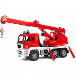 BRUDER Пожарная машина автокран MAN с модулем со светом и звуком 02-770