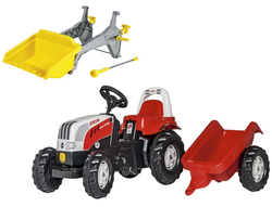Rolly Toys Трактор педальный RollyKid Steyr 6190 CVT 012510/409310 от 2-х лет