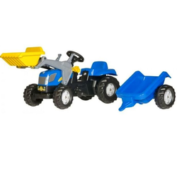 Rolly Toys Трактор педальный rollyKid New Holland T 7040  023929 от 2-х лет
