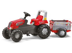 Rolly Toys Трактор педальный  rollyJunior RT m.Farm Trailer 800261 от 3 лет