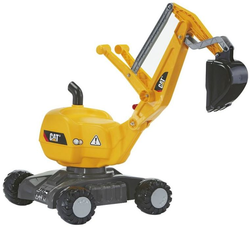 Rolly Toys Экскаватор Rolly Digger CAT mit Rader  от 3-х лет 421015