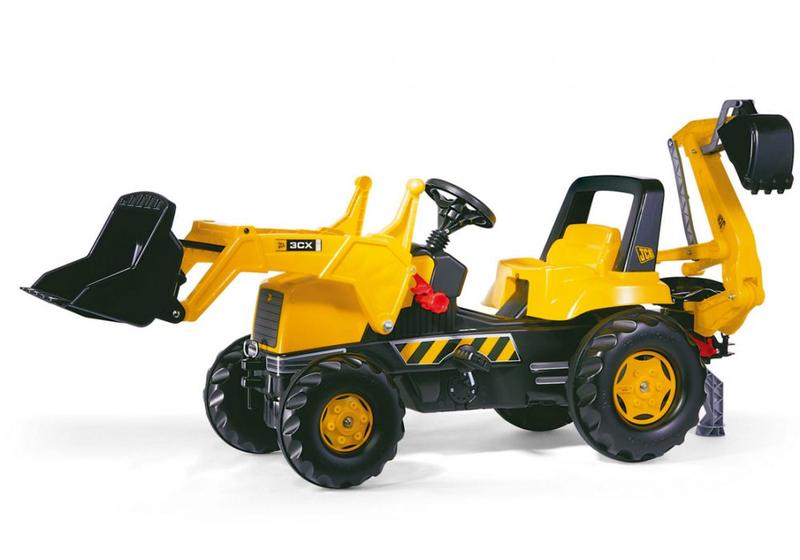 Rolly Toys Трактор педальный rollyJunior JCB 812004 от 4-х лет