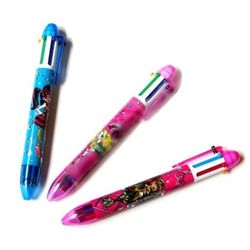 Ручка Монстр Хай шариковая четырехцветная 213
