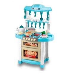 HTI детская кухня Zanussi с водой электронная 94 см 28 предметов 1680638.00