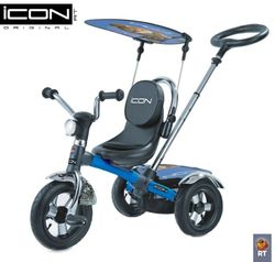 Велосипед Lexus Trike ICON 2 RT original с надувным колесом голубой