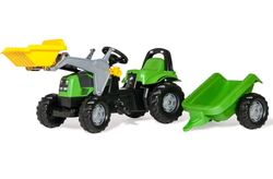 Rolly Toys Трактор педальный rollyKid Deutz 023196 от 2-х лет