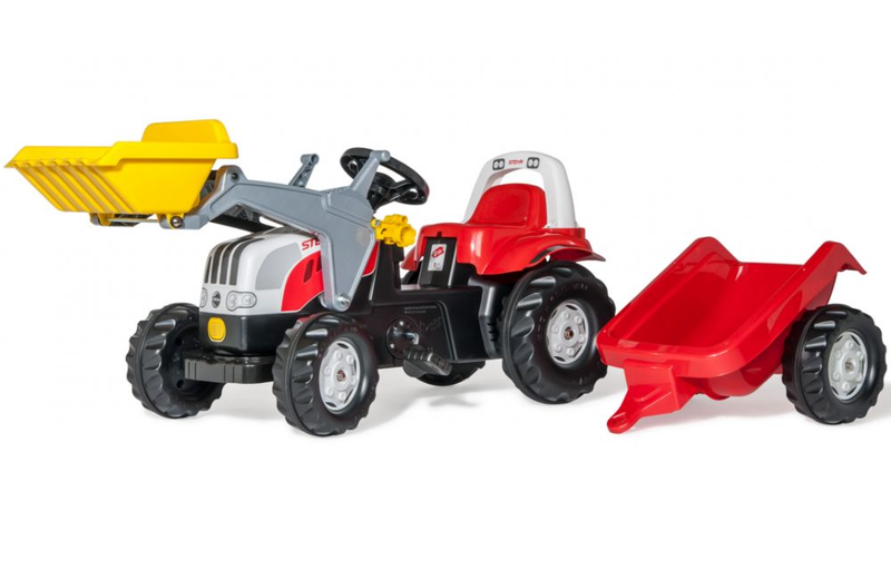 Rolly Toys Трактор педальный rollyKid Steyr CVT 6190 023936 от 2-х лет
