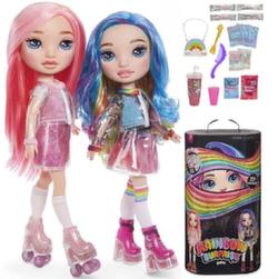 Кукла Пупси слайм Poopsie Rainbow Surprise радужная/розовая 20 сюрпризов 559887